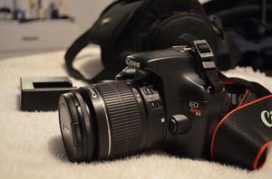 Camara Canon T3, lente  lente 50 mm 1.8.