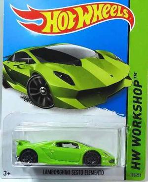 Hot Wheels Escala 1:64 - Lamborghini Sesto Elemento()