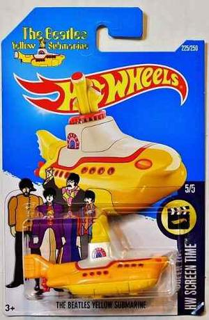 Hot Wheels Escala 1:64 - The Beatles Yellow Submarine 5/5