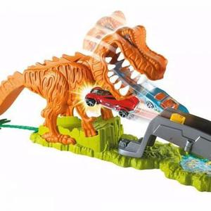 Hot Wheels Pista De Carros Rex X Coche Dinosaurio Mattel