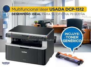 Multifuncional Laser Brother  Usada + Toner Genérico