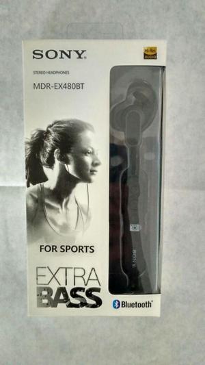 Audífonos deportivos Bluetooth Sony