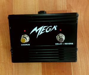 Footswitch para amplificador de guitarra eléctrica Mega Fs