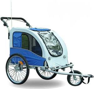 La Silla De Paseo De Bicicleta Para Mascotas Aosom Elite Ii