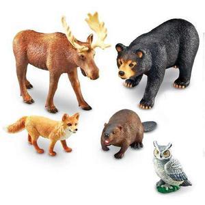 Los Recursos De Aprendizaje Jumbo Animales Del Bosque