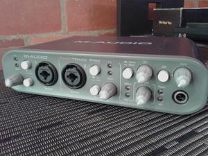 Maudio Fast Track pro regalo microfono condensador