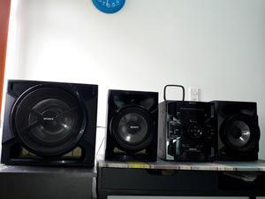 Minicomponente Sony Genezi MHC GTR555 de sonido