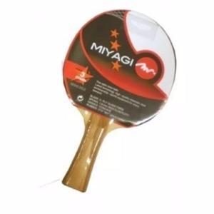 Raqueta De Ping Pong Miyagi 3 Estrellas Alta Calidad