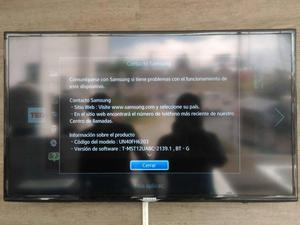 Se vende Samsung 3D Smart TV FH Serie 6 de 40 Full HD