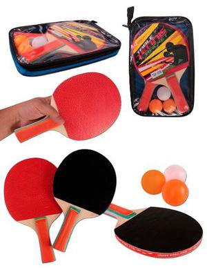 Set De Raquetas Para Tenis De Mesa Con Envío Gratis