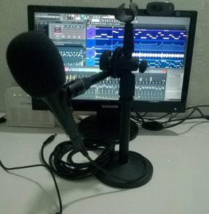 Set de grabación para mini estudio