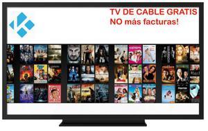 Televisión de cable GRATIS, no más facturas, Convertidor