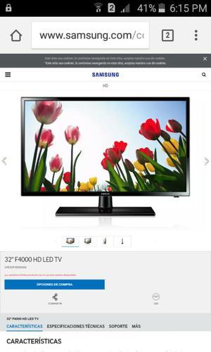 Vendo Tv Samsung de 32 Led para Repuesto