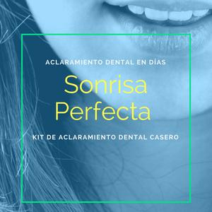 Kit de aclaramiento dental casero
