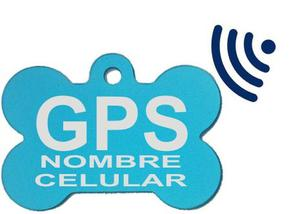 Placa Identificación Y Ubicación Gps Mascotas Perros Code