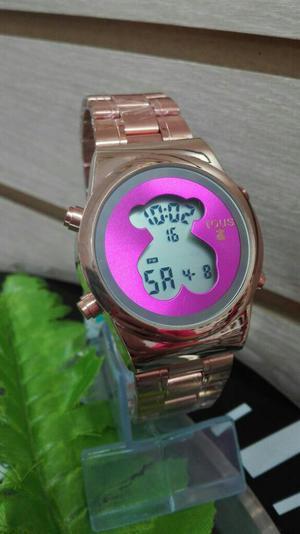 Reloj Tous Oro Rosa Digital