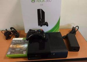 Vendo Xbox 360 Slim E 4gb + Juego Halo 4 En Buen Estado