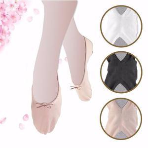 Zapatilla Danza, Ballet Y Gimnasia 100% Cuero