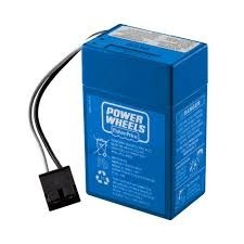 Baterias Fisher Price Power Wheels 6 Voltios