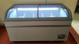 Congelador horizontal tapa vidrio WONDER