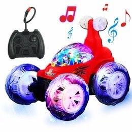 Stunt Carro Musical Con Luces Control Remoto Ref