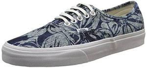 Vans Unsiex Auténtico Indigo Tropical Zapatos De
