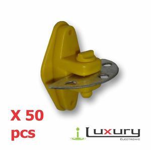 Aislador Para Cerca Eléctrica Porta Manigueta X 50pcs