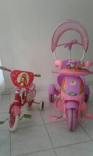 Combo Bicicleta Y Paseador