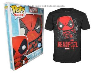 Deadpool Funko Pop Camiseta Original De Lujo