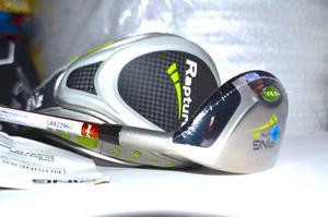 Híbrido Ping Rapture Graphite Golf Regular 18grados Tfc 129