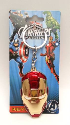 Iron Man Avengers Marvel Llavero Metálico
