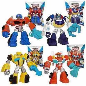 Juguete Transformers Escuadron De Rescate Playskool