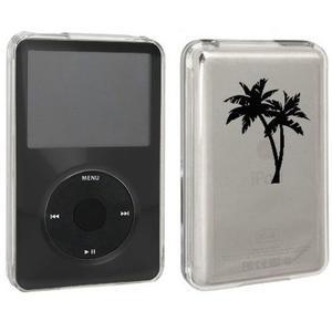 Negro Apple Ipod Classic Cubierta Dura De La Caja 6th 80gb