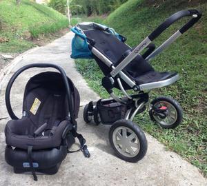 Quinny Buzz coche Travel System Jogger / con silla maxi cosi