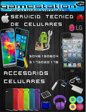 SERVICIO TECNICO DE CELULARES Y TABLES