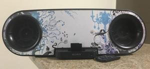 Sony Parlante Bluetooth Portatil Base Sound Dock 30 Pin Ipod