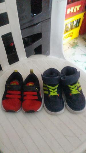 Vendo 2 Pares de Zapatillas para Bb