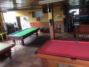 vendo mesas de billar y pool