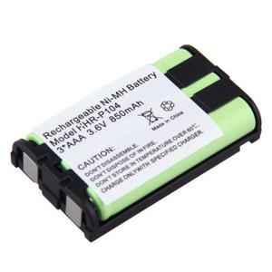 10 X 850mah Ni-mh Batería Para Panasonic Kx-tg