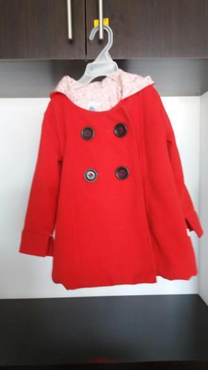 Abrigo Chaqueta para Niña Talla 3