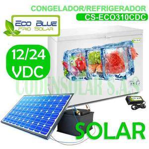 Congelador Solar  Vdc 310 Litros Bajo Consumo Electrico