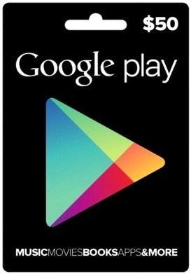Google Play 50 Usd Tarjeta Gift Codigo