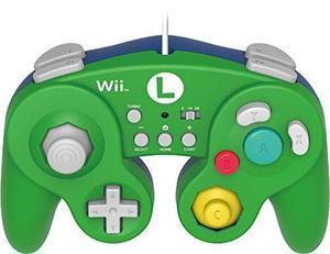 Hori Battle Pad Para Wii U (luigi Version) Con Turbo - Nint