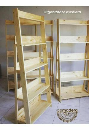 Muebles Organizadores en Madera