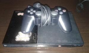 Playstation 2 Con Un Control Original