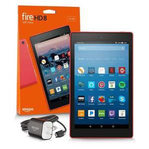 Tablet Fire Amazon Kindle Hd 8 16g Negro, Azul Y Rojo