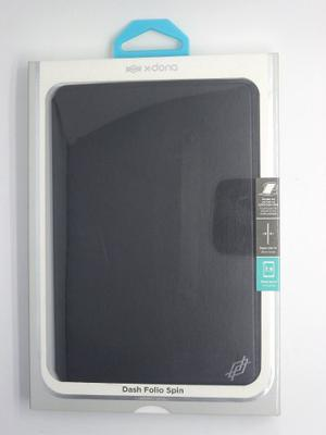 X-doria Dash Folio Spin Rotate Para Ipad Mini 4 Negro