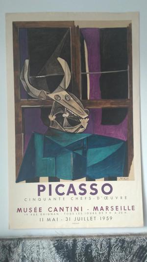 Afiche de...Picasso...