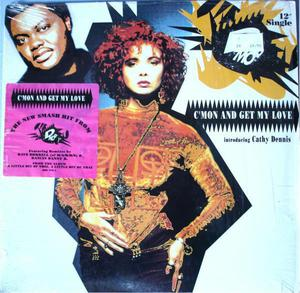 Lp Dmob* Introducing Cathy Dennis/c'mon And Get My Love