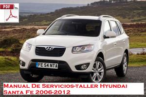 Manual De Servicios taller Hyundai Santa Fe  al